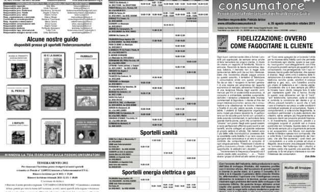 Cittadino Consumatore num. 35 (ago.-ott. 2011)