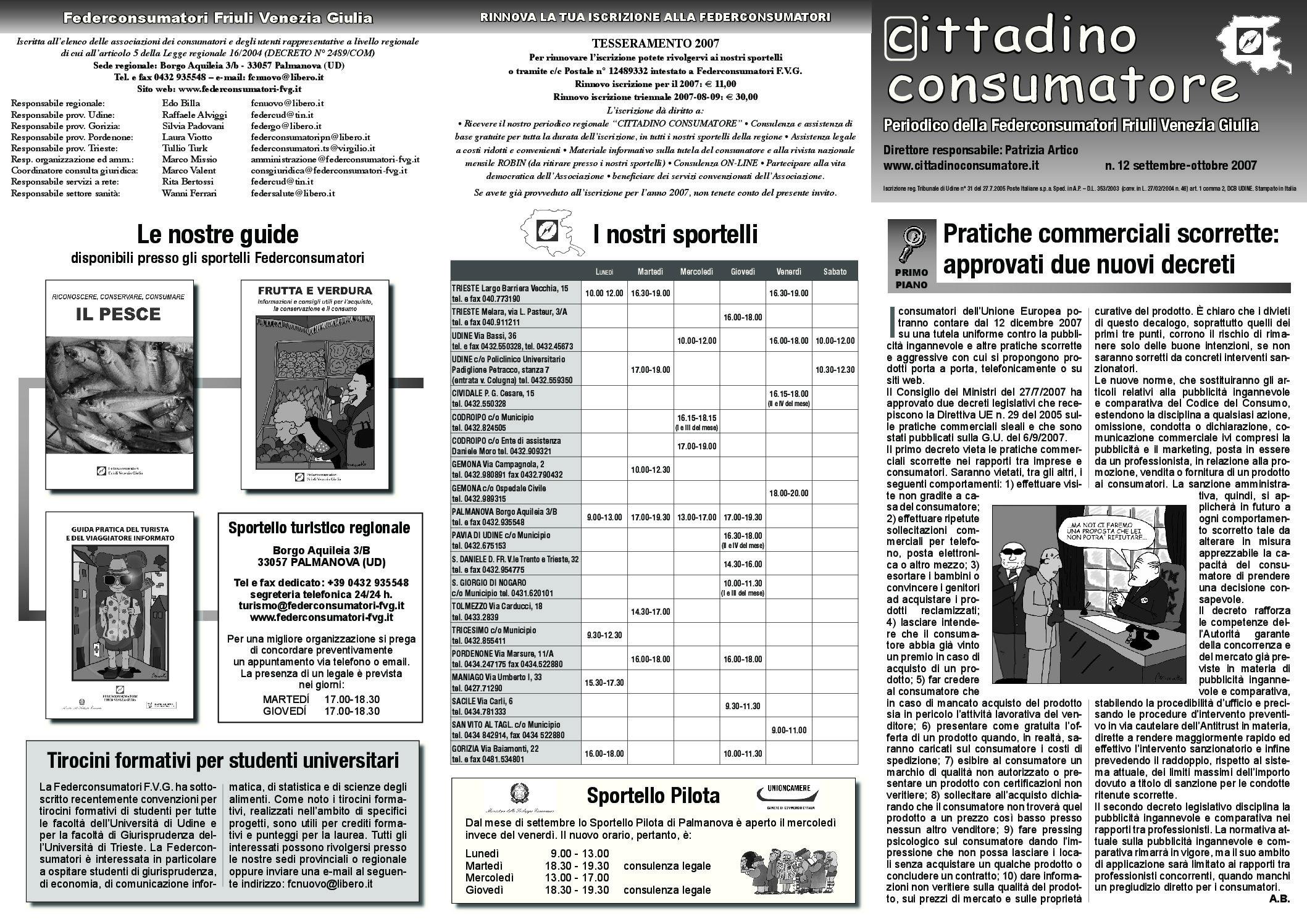 Cittadino Consumatore num. 12 (set.-ott. 2007)