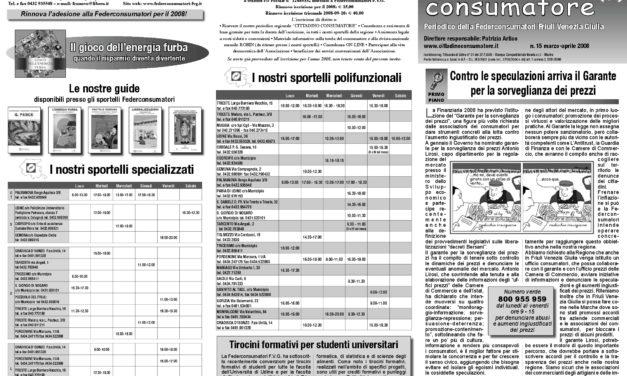 Cittadino Consumatore num. 15 (mar.-apr. 2008)