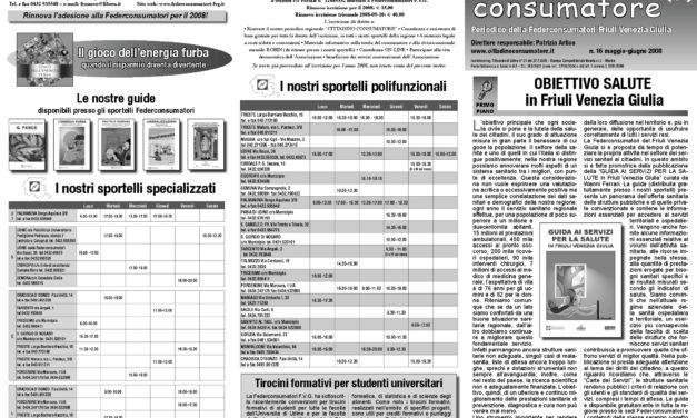 Cittadino Consumatore num. 16 (mag.-giu. 2008)