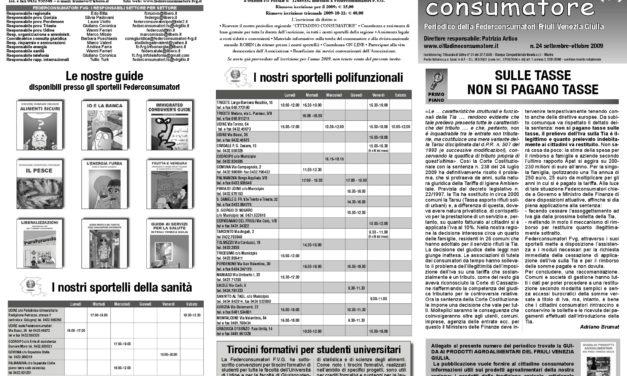 Cittadino Consumatore num. 24 (set.-ott. 2009)