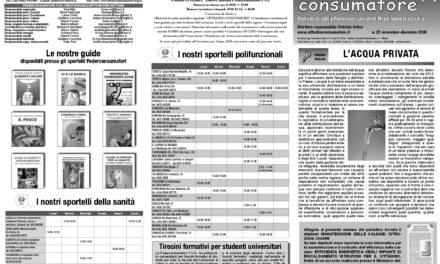 Cittadino Consumatore num. 25 (nov.-dic. 2009)