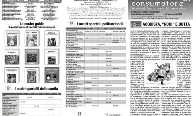 Cittadino Consumatore num. 33 (mar.-apr. 2011)