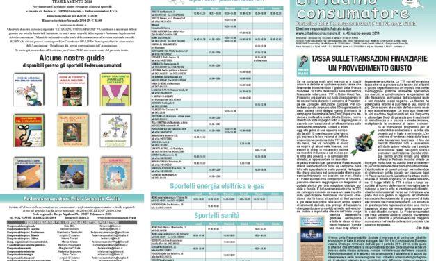 Cittadino Consumatore num. 45 (mar-ago. 2014)