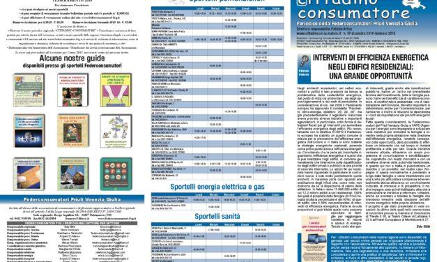 Cittadino Consumatore num. 47 (dic. 2014-feb. 2015)