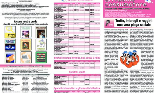 Cittadino Consumatore num. 58 (mar. – mag.2019)