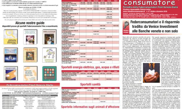 Cittadino Consumatore num. 57 (giu. – ott.2018)