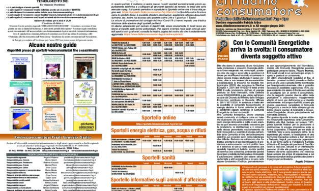 Cittadino Consumatore num. 62 (mag. – giu.2021)